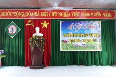 Lễ kỷ niệm 36 năm ngày Nhà giáo Việt Nam 20/11/1983 – 20/11/2018