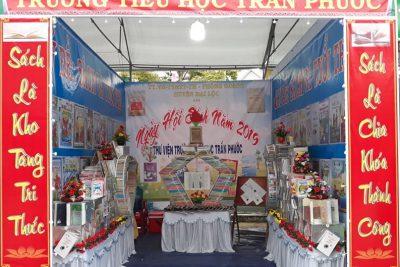 Ngày hội sách năm 2019 Thư viện trường Tiểu học Trần Phước